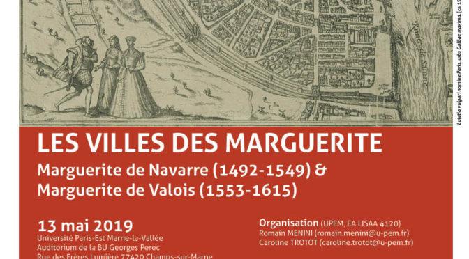 Vidéos du colloque «Les Villes des Marguerite»